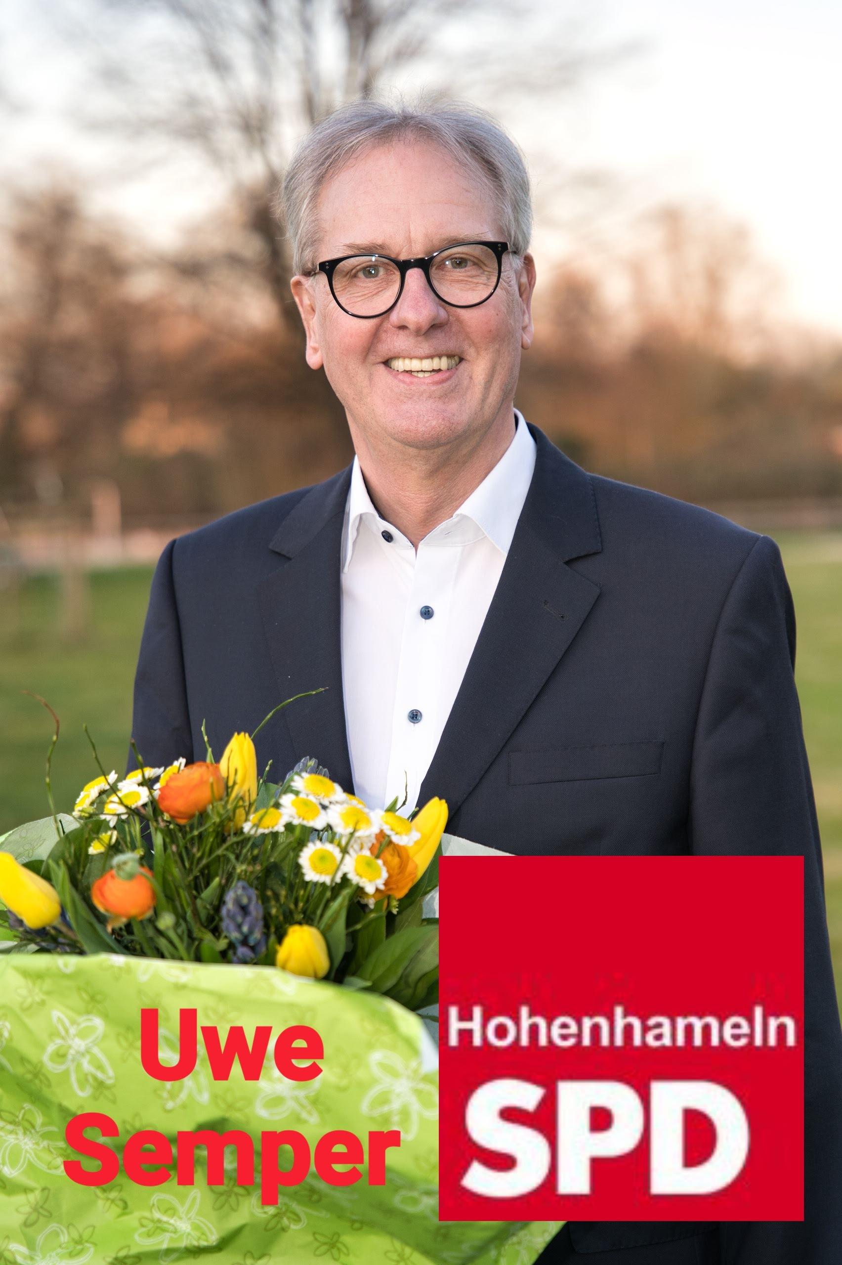 Uwe Semper zeigt sich nach der Wahl zum Bürgermeisterkandidat zuversichtlich.
